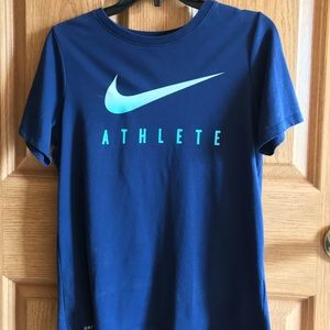 Brand new Navy blue Nike tee